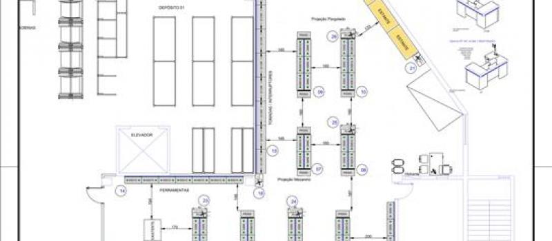 projeto layout loja gondola etil materiais eletricos candossim e cabana
